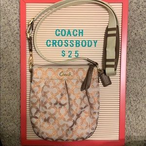 Coach Monogram Crossbody Purse